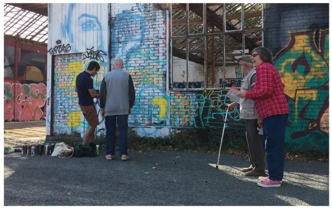 Concertation artistique et urbaine à la Courrouze - Rennes - pour laménageur Territoires